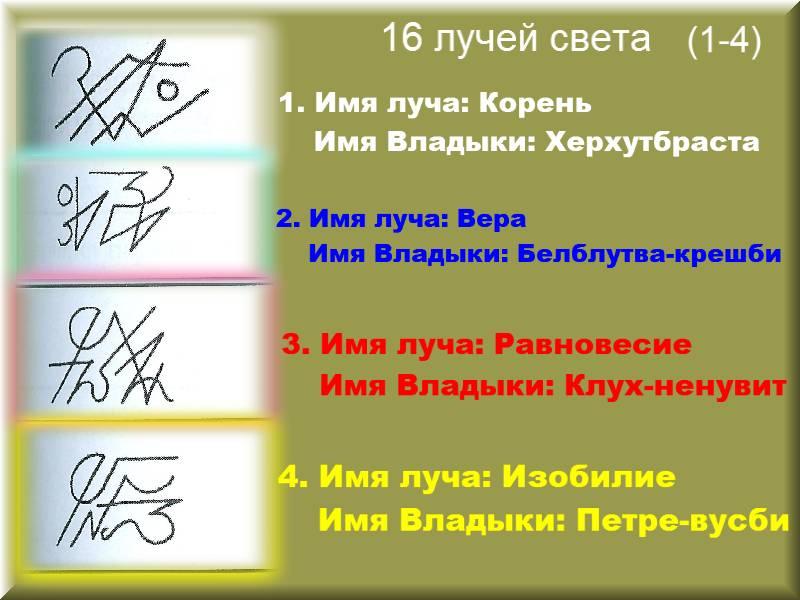 1-4 лучи5