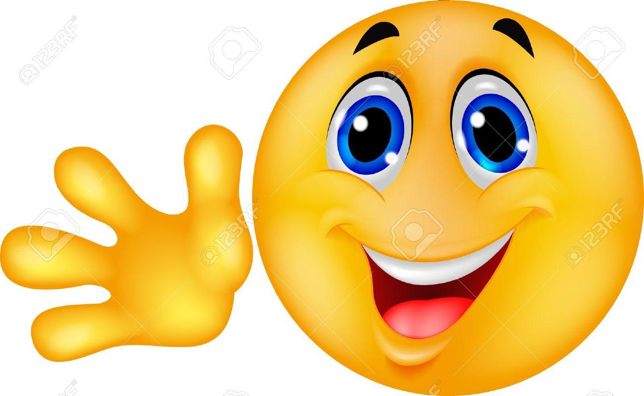 18047065-Smiley-emoticon-waving-hand--Stock-Vector-bye